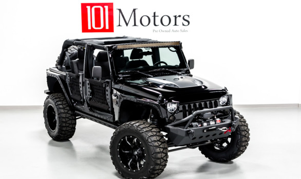 2014 Jeep Wrangler w/ tube doors Black