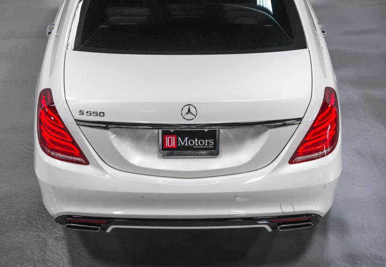 2014 Mercedes-Benz S550