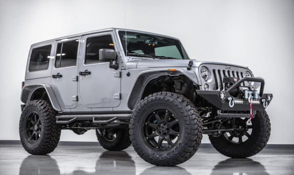 2014 Jeep Wrangler Unlimited Sport 4X4 Billet Silver