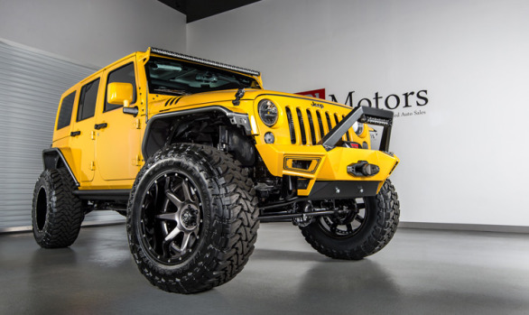 2015 Jeep Wrangler Unlimited Hardtop | Baja Yellow