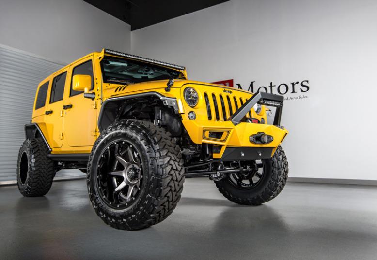 2015 Jeep Wrangler Unlimited Hardtop | Baja Yellow