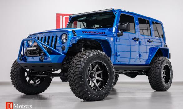2015 Jeep Wrangler Unlimited Hardtop Hydro Blue Pearl