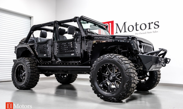 2015 Jeep Wrangler Unlimited Rubicon w/Hardtop