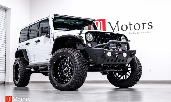 2014 Jeep Wrangler Black With Custom Roll Cage 101