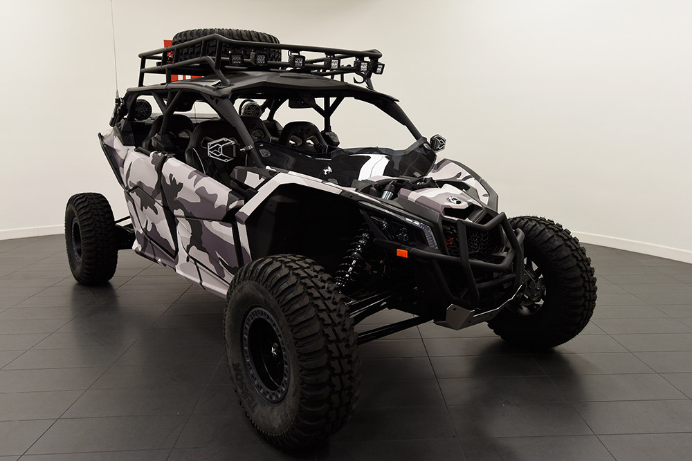 Snow Camo Can-am X3